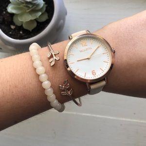 valletta gold watch and bracelet trio!